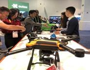 CES 2019-普宙飞盟工业无人机SAGA大展中国红外载荷实力
