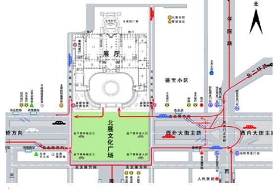 北京动物园乘车路线