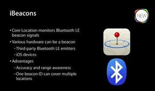 iBeacon是和蓝牙绑定的