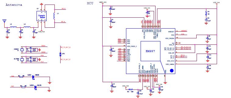 基础电路图 电子入门电路图 ->【贝能国际】蓝牙zigbee无线灯控方案